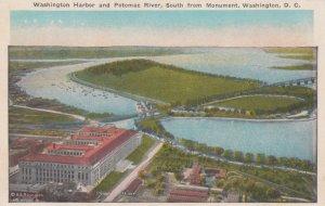 WASHINGTON D.C., 1900-10s ; Washington Harbor & Potomac River, South from Mon...