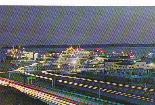 Canada Canadian National Railway Ferry Terminus North Sydney Cape Breton Nova...