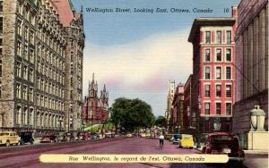 Canada - Ontario, Ottawa. Wellington Street