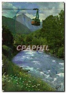 Postcard Modern Teleferique