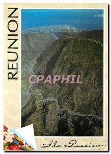 Modern Postcard Reunion Island Reunion Island Passion River Pebbles