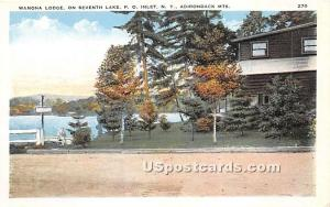 Wanona Lodge Inlet NY Unused