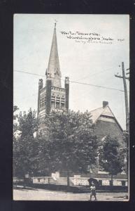 WASHINGTON MISSOURI METHODIST EPISCOPAL CHURCH VINTAGE POSTCARD MO.
