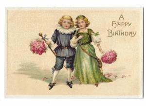 Happy Birthday Cute Couple with Roses