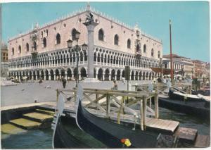 VENEZIA, Palazzo Ducale, Ducal Palace, used Postcard