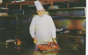 Chef Bob McCarr Hackney's Seafood Restaurant Atlantic City New Jersey