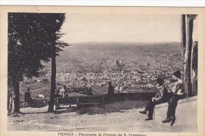 Italy Fiesole Panorama di Firenze da San Francesco