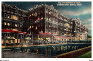 Connecticut  New London ,  Griswold Hotel at Night