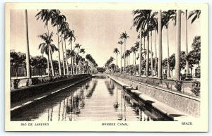 Postcard Brazil Rio De Janeiro Mangue Canal New York World Fair 1939 C24