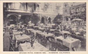 Spanish Patio Mission Inn Riverside California Albertype