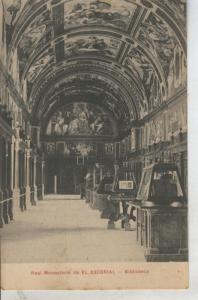 Postal 010827: Biblioteca del real monasterio de El Escorial, Madrid