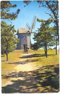 The Old Grist Mill, Chatham, Cape Cod, Massachusetts, MA, 1963 chrome