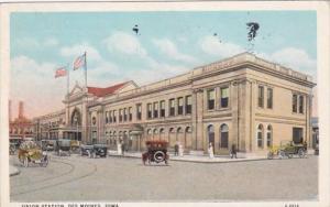 Iowa Des Moines Union Station 1933 Curteich