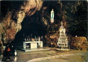 Religion Lourdes The Miraculous Grotto  Postcard