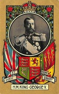 H. M. King George V. Long Live The King Postcard