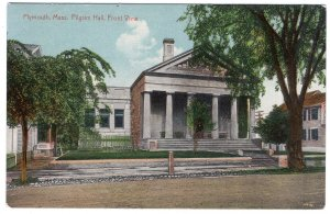 Plymouth, Mass, Pilgrim Hall, Front View
