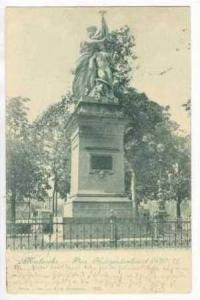 Das Kriegerdenkmal, Karlsruhe (Baden-Württemberg), Germany, 1900-1910s