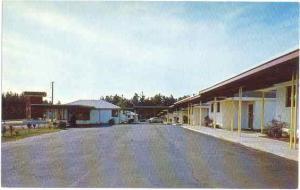 Fairway Motel, Southern Pines, North Carolina, NC, Chrome