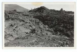 RPPC The Lava Flow in the Craters of the Moon, Idaho, ID