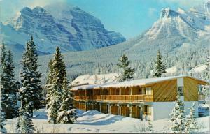 Pipestone Lodge Motel Lake Louise Alberta AB Unused Vintage Postcard D80
