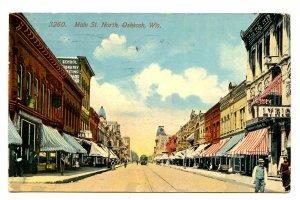 WI - Oshkosh. Main Street North