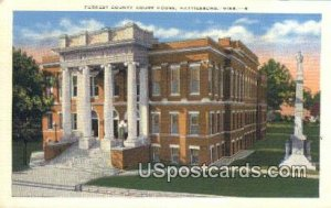 Forrest County Court House in Hattiesburg, Mississippi