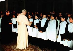 CPM CATHOLIC POPE El Papa a Montserrat (318196)