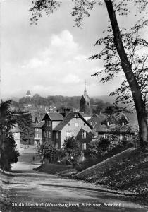Stadtoldendorf (Weserbergland) Blick vom Bahnhof Street Panorama