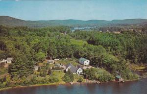 Aerial view,  Madonna House Apostolate Combermere,  Ontario,  Canada,  40-60s
