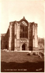 England Bolton Abbey The Great West Front Photo