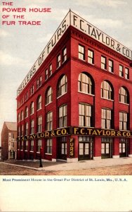 Missouri St Louis F C Taylor & Company Furs