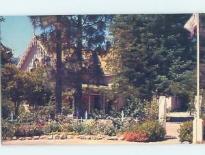 Unused Pre-1980 GENERAL VALLEJO HOME Sonoma California CA F1720