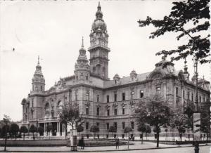 RP:  GYOR , Hungary , 50-60s ; County Hall of Town