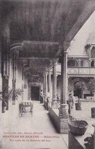 Hotel-Dieu, Un Coin De La Galerie Du Bas, Hospices de Beaune, Beaune (Cote d?...