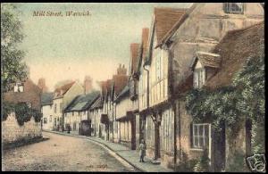 warwickshire, WARWICK, Mill Street (ca. 1910)