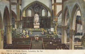 COLUMBIA , South Carolina , 1909; Interior of Trinity Church