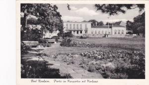 RP; Bad Nauhem, Partie im Kurgarten mit Kurhaus, Hesse, Germany, 10-20s