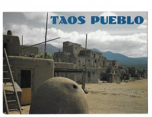 Taos Pueblo Built in 13th Century Still Standing in Taos New Mexico 4 by 6