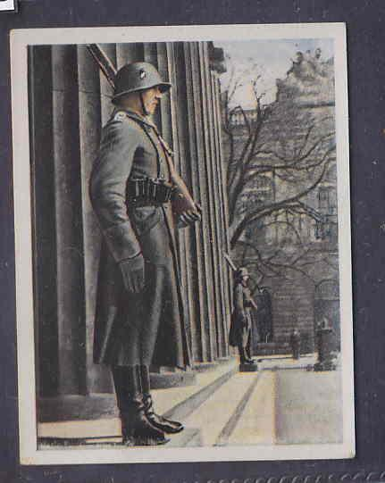 GERMANY TOBACCO CARD WWI 6x5 cms. SOLDIERS AAD5143