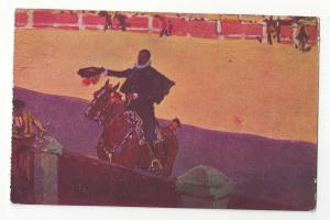 Spain Madrid Bullfighter Matador M Bertuchi 1948 Postcard