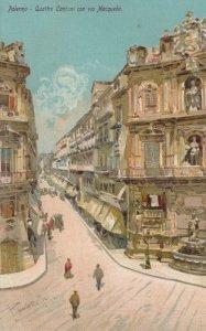 PALERMO , Italy , 00-10s : Quattro Cantoni con Via Macqueda , Version-2