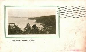 Poland, Maine, ME, Tripp Lake, 1907 Antique Vintage Postcard f7647