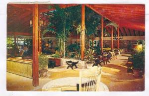 Interior, Anchorage Hotel, Dickerson Bay, Antigua, W.I.,  40-60s
