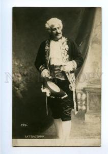 175209 GREAT Mattia BATTISTINI Italian OPERA singer old PHOTO
