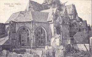 Kirche St. Pierre, ROYE (Somme), France, 1900-1910s