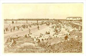 Train, Marine Drive & Shore, Southport, England, UK, 1900-1910s