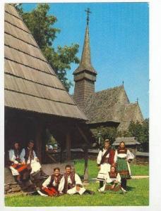 Folk Costume from the Oas Land, Romania, 1950-60s