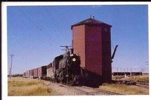 Northern Alberta Steam Ralway, Train, Water Stop, Busby, Alberta