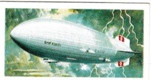 Trade Cards Brooke Bond Tea Transport Through The Ages No No 36 Airship
