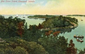 Canada - ON, Thousand Islands. Blue Crane Island